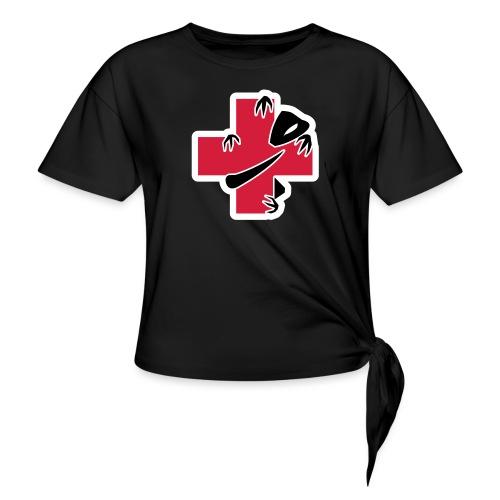sic-santyx-infirmyx-citud - T-shirt à nœud