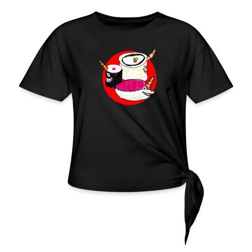 Unicorn Sushi - Knotted T-Shirt