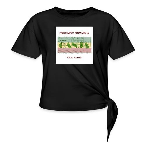 radio ganja - Knotted T-Shirt