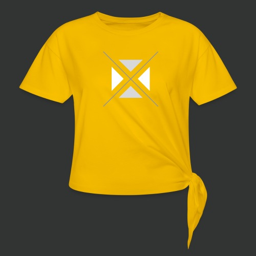 hipster triangles - Knotted T-Shirt