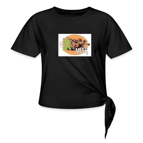 nixenmeer - Vrouwen Geknoopt shirt