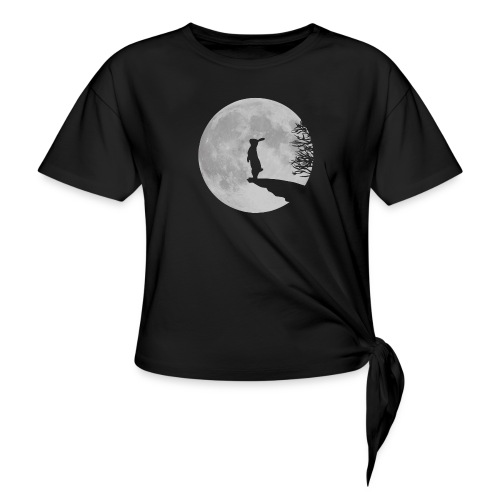 rabbit_wolf-png - Knotted T-Shirt
