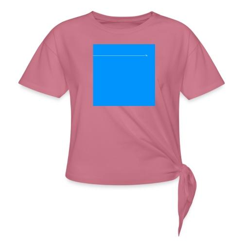 sklyline blue version - T-shirt à nœud Femme