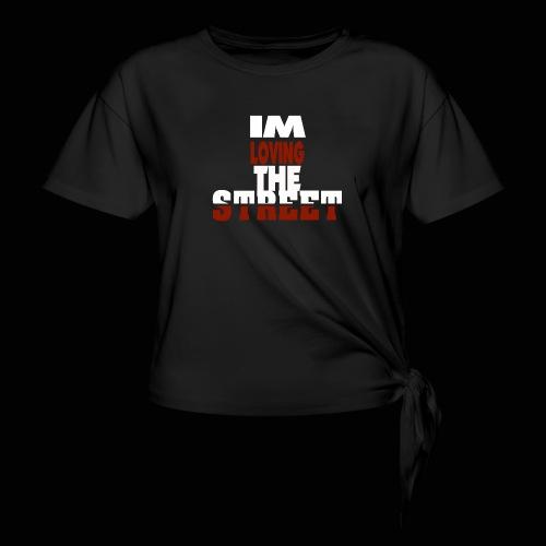 IMLOVINGTHESTREET - Dame knot-shirt