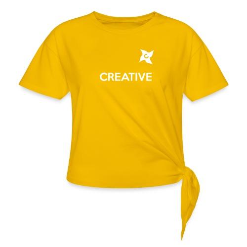 Creative long urban shirt - Dame knot-shirt