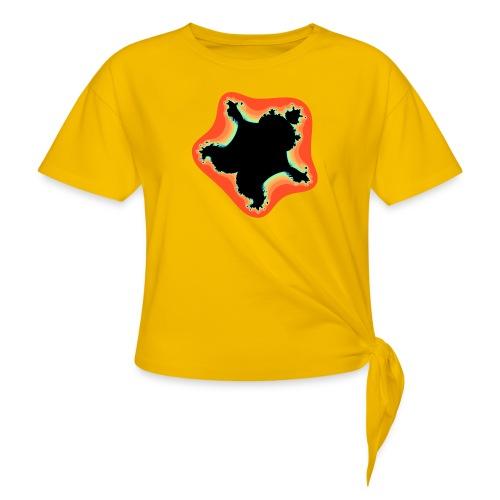 Burn Burn Quintic - Women's Knotted T-Shirt