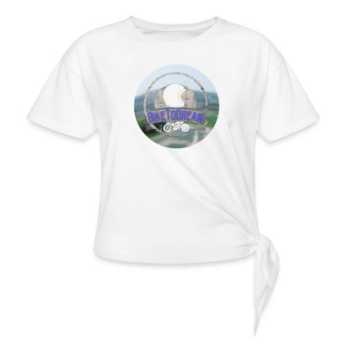 BikeToDream - T-shirt à nœud Femme