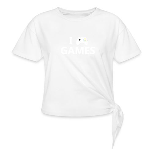 I Love Games 2 - Camiseta con nudo
