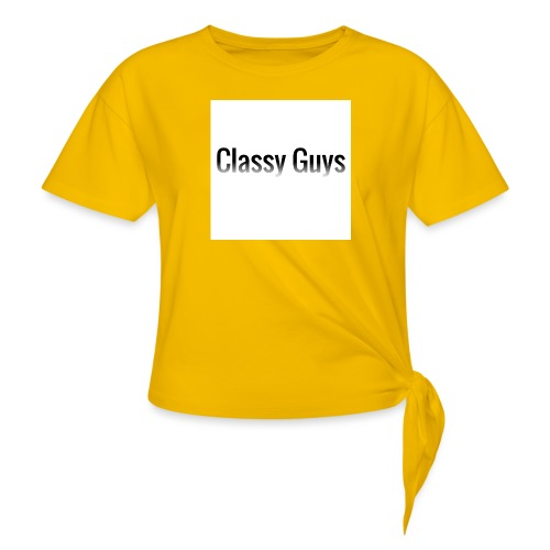 Classy Guys Simple Name - Knotted T-Shirt