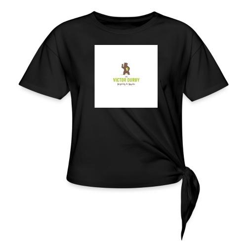 Victor Duruy 2 - T-shirt à nœud