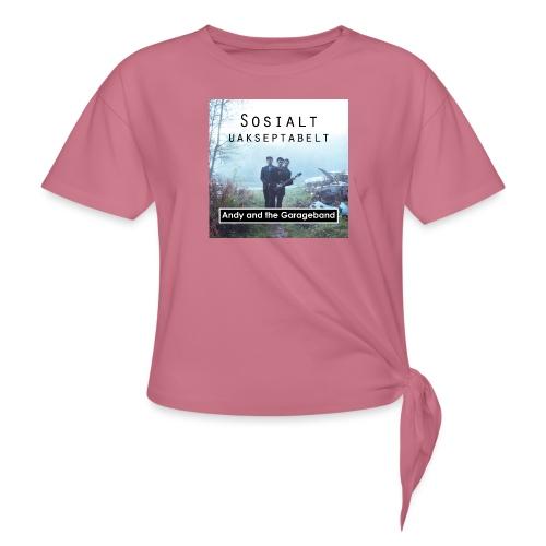 Sosialt Uakseptabelt - Knute-T-skjorte for kvinner