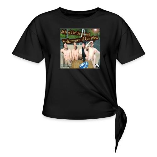 Velkommen Til Garasjen - Knute-T-skjorte for kvinner