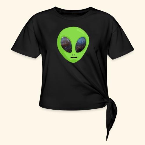 ggggggg - Vrouwen Geknoopt shirt