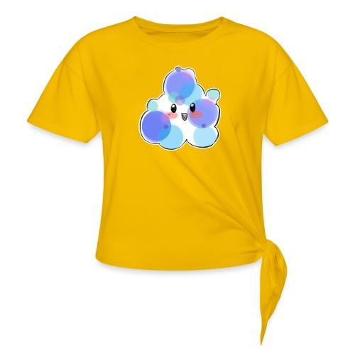 Baby Blue - Camiseta con nudo mujer