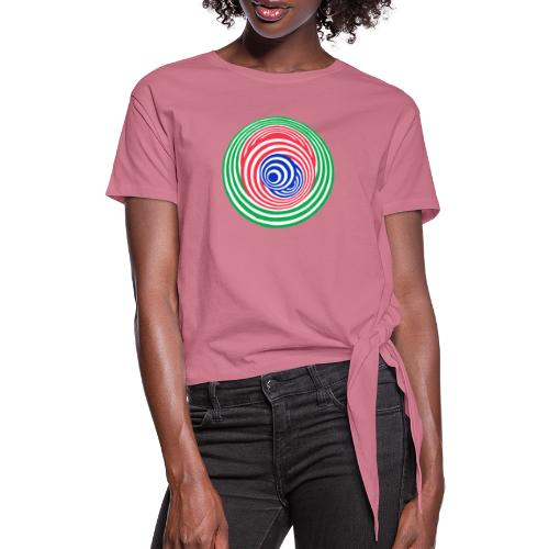 Tricky - Women's Knotted T-Shirt