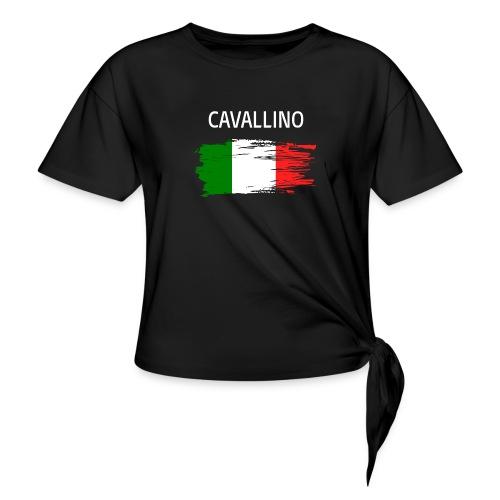 Cavallino Fanprodukte - Frauen Knotenshirt