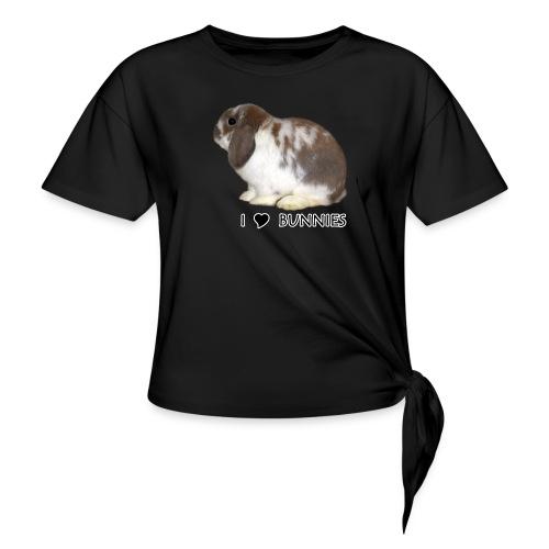 I Love Bunnies Luppis - Naisten solmupaita