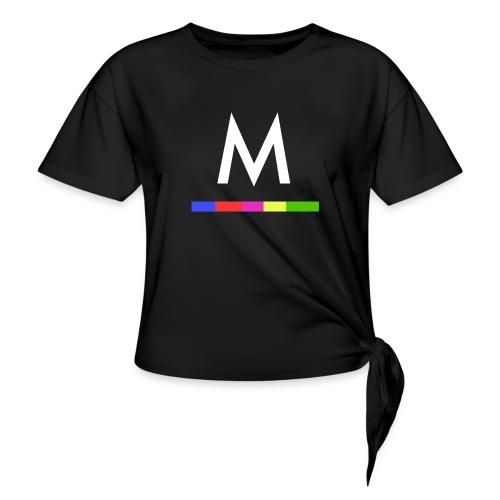 Metro - Camiseta con nudo mujer