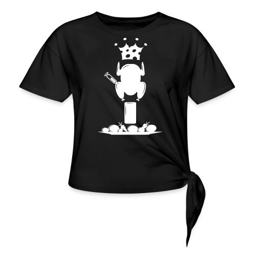 Bella maglietta per le donne 2 - Maglietta annodata