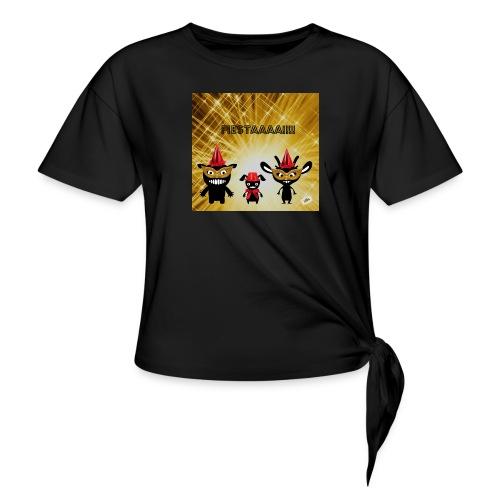 Fiestaaa - T-shirt à nœud Femme
