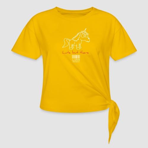 lurr unicorn - Knotted T-Shirt