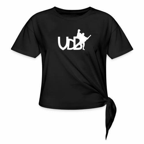Linea VdB Bianco - Maglietta annodata da donna