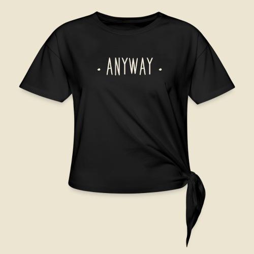 Anyway - T-shirt à nœud