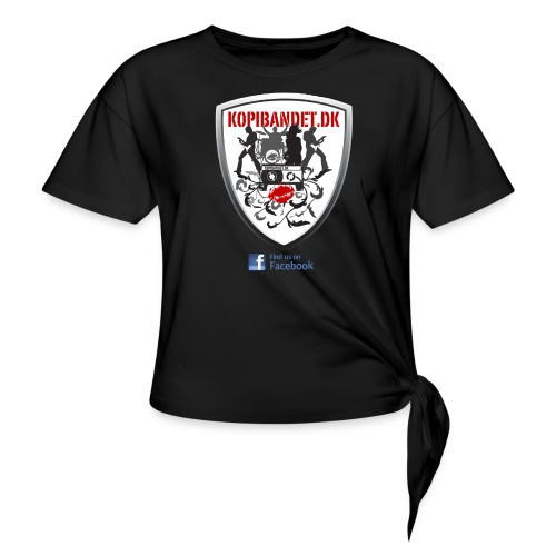 KopiBandet.DK find us on facebook - Knot-shirt