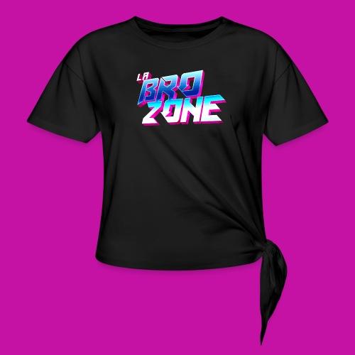 La BroZone ! - T-shirt à nœud