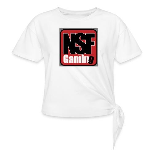 NSFGaming - T-shirt med knut dam