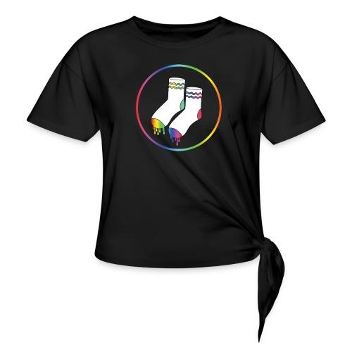 Natte Sokken Classic Logo - Vrouwen Geknoopt shirt