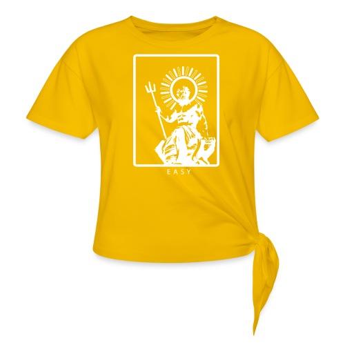 POSEIDONE - Maglietta annodata da donna
