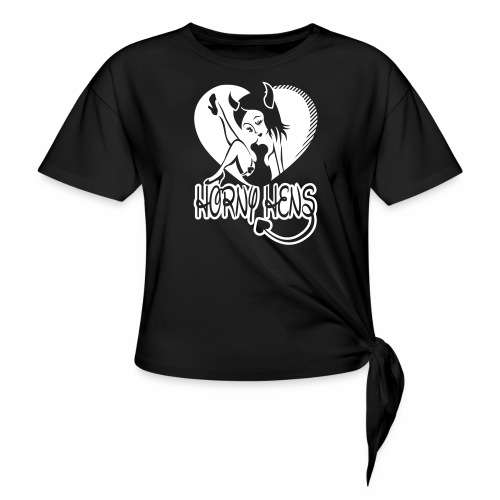Horny Hens Heart - Knotted T-Shirt