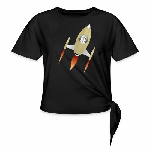 Spaceship - T-shirt à nœud