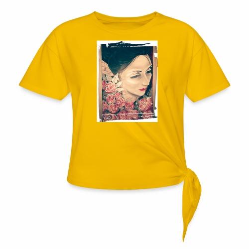Lady Rose, - Maglietta annodata da donna