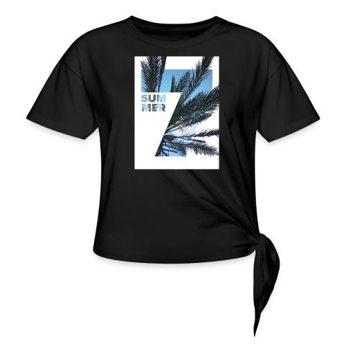 Summertime - Geknoopt shirt