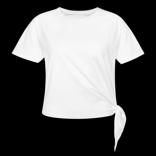 Pinque AEM Bianco - Maglietta annodata da donna