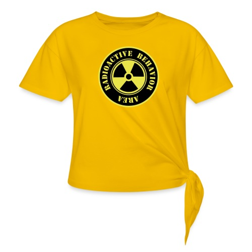 Radioactive Behavior - Camiseta con nudo