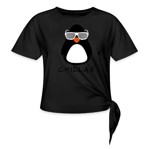 Chillax - Vrouwen Geknoopt shirt