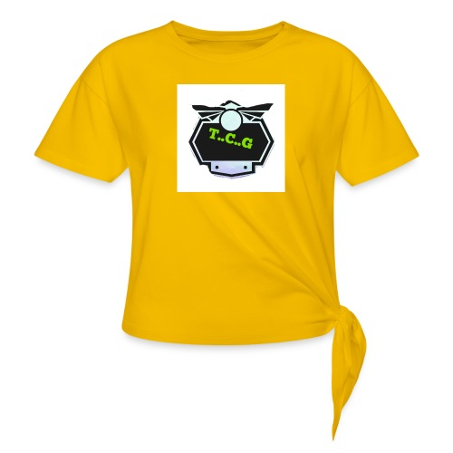 Cool gamer logo - Knotted T-Shirt
