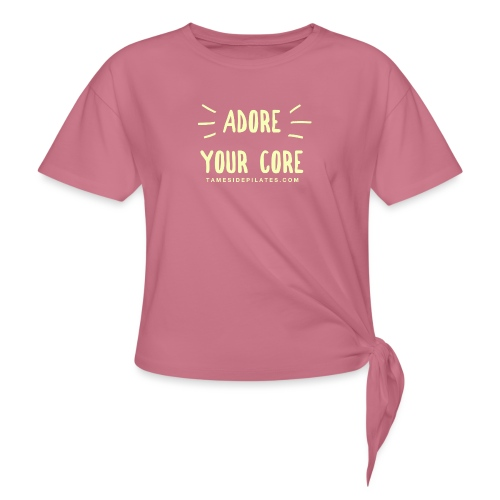 Adore Your Core - Knotted T-Shirt