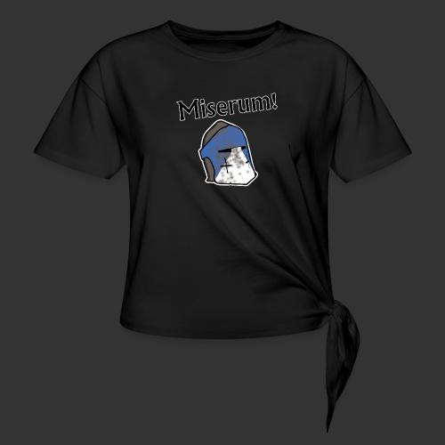Warden Cytat Miserum! - Koszulka z wiązaniem