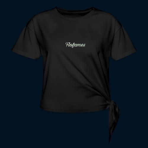 camicia di flofames - Maglietta annodata da donna