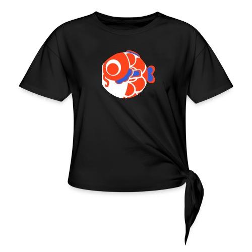 koi france - T-shirt à nœud