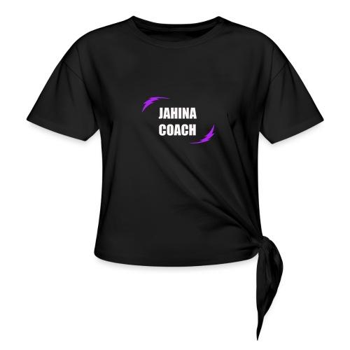 JHNA 001 - T-shirt à nœud Femme