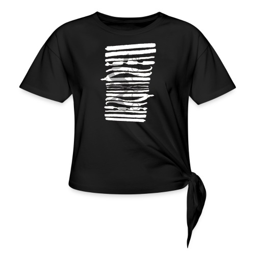 kalligrafie_axl.png - Knotted T-Shirt