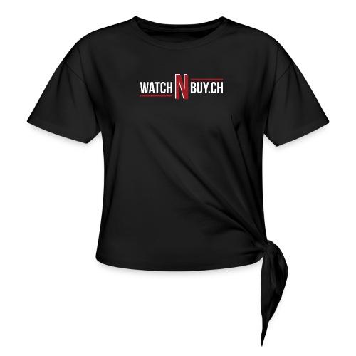 Logo - T-shirt à nœud Femme