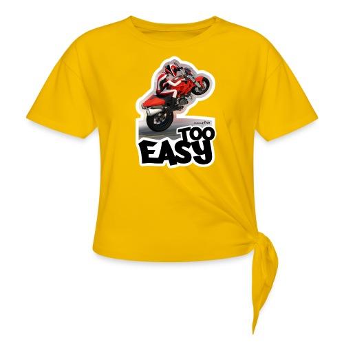 Ducati Monster Wheelie A - Camiseta con nudo