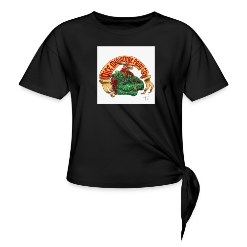 DiceMiniaturePaintGuy - Women's Knotted T-Shirt