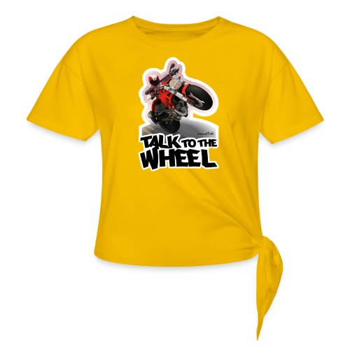 Ducati Monster Wheelie B - Camiseta con nudo
